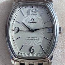 Omega De Ville Prestige Stahl 31.2mm Perlmutt Arabisch Schweiz, 4053