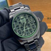Rolex Milgauss Acciaio 40mm Nero Senza numeri Italia, Napoli