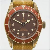 Tudor Black Bay Bronze pre-owned 43mm Brown Textile