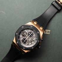 Audemars Piguet Royal Oak Offshore Chronograph Oro rosa 42mm Nero Arabi Italia, roma