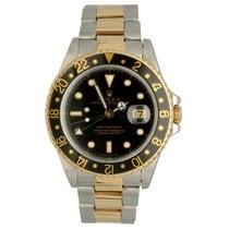 Rolex GMT-Master II 16713 Gut Gold/Stahl 40mm Automatik