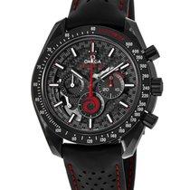 Omega Speedmaster Professional Moonwatch Керамика Черный Без цифр