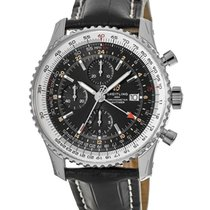 Breitling Navitimer GMT Steel Black No numerals United States of America, New York, Brooklyn