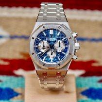 Audemars Piguet Royal Oak Chronograph Otel 41mm Albastru Fara cifre