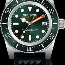 Nethuns Steel 41mm Automatic SS515 new