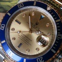 Rolex 16613 Gold/Stahl 1996 Submariner Date gebraucht Österreich, FFM