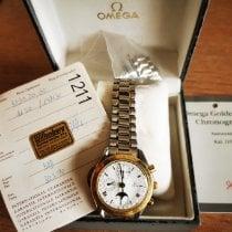 Omega 175.0034 Сталь 1990 Speedmaster Professional Moonwatch Moonphase 39mm подержанные