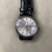 Seiko King Steel 35mm Silver No numerals
