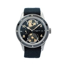Montblanc Steel Automatic 42mm pre-owned 1858