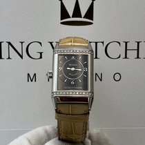 Jaeger-LeCoultre Reverso Duetto Duo White gold Silver