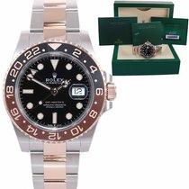 Rolex GMT-Master Gold/Steel 40mm Black United States of America, New York, Huntington