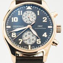 IWC Pilot Chronograph IW387805 Çok iyi Açık kırmızı altın 43mm Otomatik Türkiye, ANKARA
