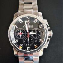 Corum Admiral's Cup (submodel) occasion 42mm Noir Chronographe Date Acier