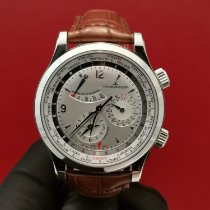 Jaeger-LeCoultre Master World Geographic Acero Plata