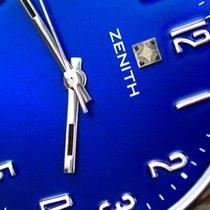 Zenith gebraucht Handaufzug 35mm Blau Kunststoff Nicht wasserdicht