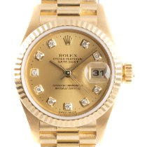 Rolex Lady-Datejust Or jaune 26mm Or