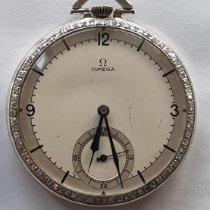 Omega Платина Механические Cерый 45mm подержанные