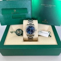 Rolex Oyster Perpetual 34 Steel 34mm Blue United States of America, New Jersey, Woodbridge