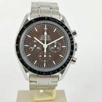 Omega Speedmaster Professional Moonwatch usados 42mm Marrón Cronógrafo Acero