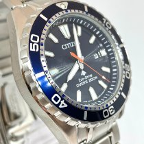 Citizen Promaster Marine Steel 45mm Blue No numerals United States of America, New York, NY