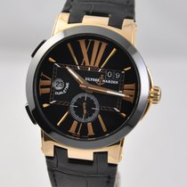 Ulysse Nardin Executive Dual Time Rose gold 43mm Black United States of America, Ohio, Mason