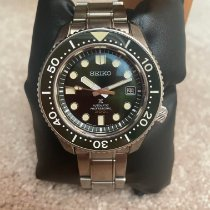 Seiko Prospex Steel 44mm Green No numerals United States of America, North Carolina, Huntersville