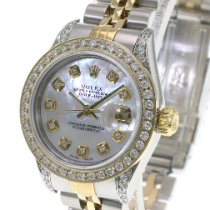 Rolex Lady-Datejust Gold/Steel 26mm Mother of pearl No numerals United States of America, California, Sherman Oaks