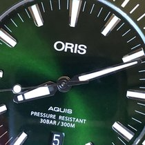Oris Aquis Date Steel 43.5mm Green No numerals United States of America, California, Thousand Oaks