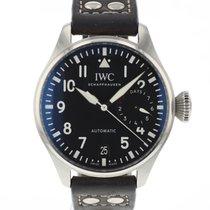 IWC IW500912 Сталь 2019 Big Pilot 46.2mm подержанные