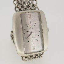 Omega Silber Handaufzug Silber 30mm gebraucht De Ville