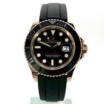 Rolex (ロレックス) ヨットマスター 40 ピンクゴールド 40mm ブラック 文字盤無し