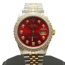 Rolex Datejust Steel 36mm Red No numerals United States of America, California, Sylmar