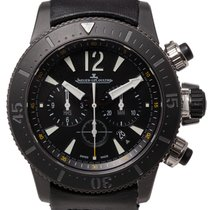 Jaeger-LeCoultre Master Compressor Diving Chronograph GMT Navy SEALs Titanium 46mm Black