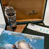 Rolex Lady-Datejust Gold/Steel 31mm Black No numerals