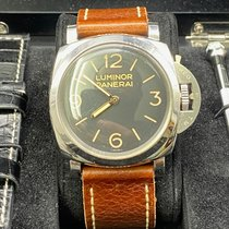 Panerai Luminor 1950 Acier 47mm Brun Arabes