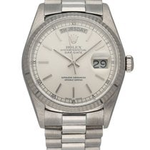 Rolex 18039 White gold 1987 Day-Date 36 36mm pre-owned United States of America, New York, New York