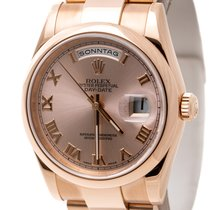 Rolex 118205 Or rose 2007 Day-Date 36 36mm occasion