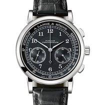 A. Lange & Söhne 1815 neu 2020 Handaufzug Chronograph Uhr mit Original-Box und Original-Papieren 414.028