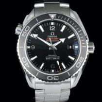 Omega Seamaster Planet Ocean подержанные 45,5mm Черный Дата Сталь
