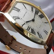 Cartier Tonneau Gelbgold 26mm Silber Deutschland, München