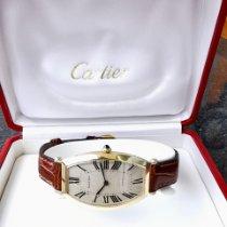 Cartier Tonneau Yellow gold 26mm Silver