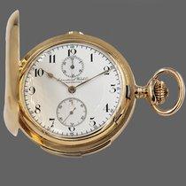 IWC Uhr gebraucht 1900 Gelbgold Handaufzug Nur Uhr