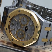 Audemars Piguet 25594SA 4100 5404 14790 royal oak Gold/Steel 1985 Royal Oak Day-Date 36mm pre-owned