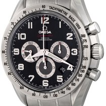 Omega Speedmaster Broad Arrow Steel 44.2mm Black Arabic numerals United States of America, Texas, Dallas