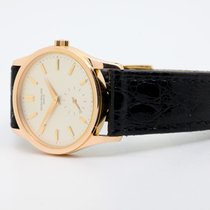 Patek Philippe Calatrava Rose gold 30,5mm Silver No numerals