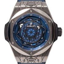 Hublot 465.SS.7179.VR.1204.MXM19 Titanium Big Bang Sang Bleu 45mm pre-owned