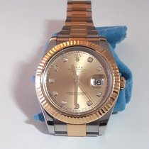 Rolex Datejust II Acero y oro 41mm Champán