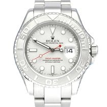 Rolex Yacht-Master 40 Steel 40mm Silver No numerals United Kingdom, Manchester