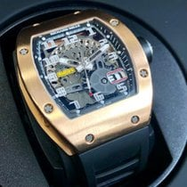 Richard Mille new Automatic Skeletonized Display back 48mm Rose gold Sapphire crystal
