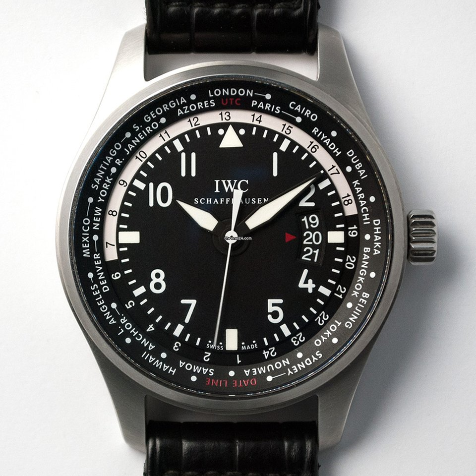 IWC Pilot Worldtimer IW326201 2014 usados